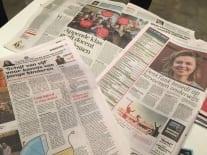 Aandacht voor oplossingen 2015 in de Telegraaf, AD, Metro, de Correspondent en NOS.nl