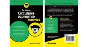 Rozanne Henzen (NDT'18) auteur boek 'De kleine Circulaire Economie voor Dummies'