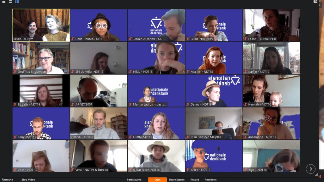deelnemers Voorjaarsdag 2020