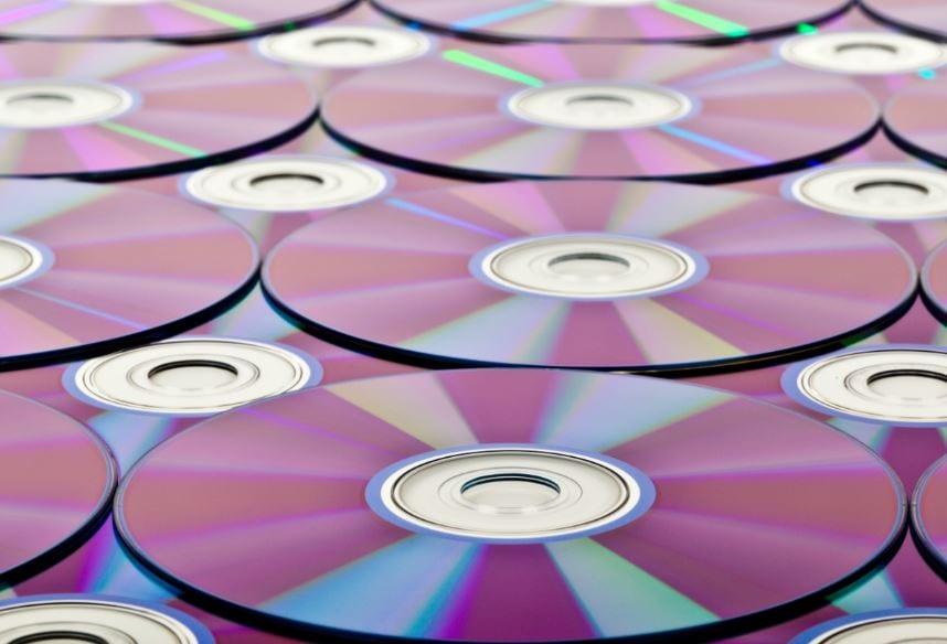 foto CD roms op tafel