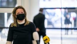 Minister Ollongren bespreekt pilot van Linde & Schoutje (NDT'20) tijdens BNR Nieuwsradio-uitzending