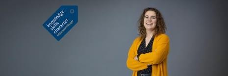 Linda Torn (NDT'20) in Tilburg University Magazine